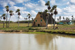 Bonito paisaje rural cubano