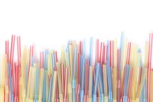 Closeup On Colorful Plastic Jars