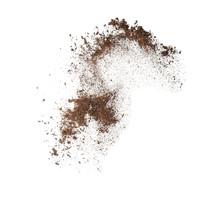 Soil On White Background