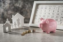 Composition With Piggy Bank, C...