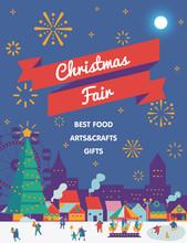 Christmas Market And Holiday F...