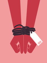 Hands Human Trafficking Awaren...