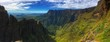 canvas print picture - Drakensberg Mountains Hiking Trail South Africa