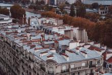 Paris Rooftops. Beautiful View...