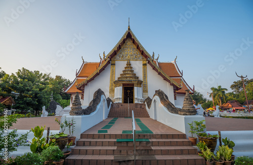 Staande foto Temple Wat Phumin, the most famous temple in Thailand
