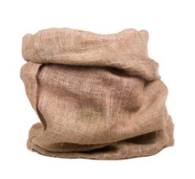 Empty Burlap Bag Or Sack