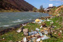 Different Garbage On The River...