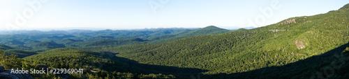 Valokuva Panorama of the Blue Ridge Mountains.