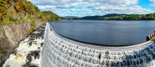 New Croton Dam, Croton-On-Hudson, Croton Gorge Park, NY. USA
