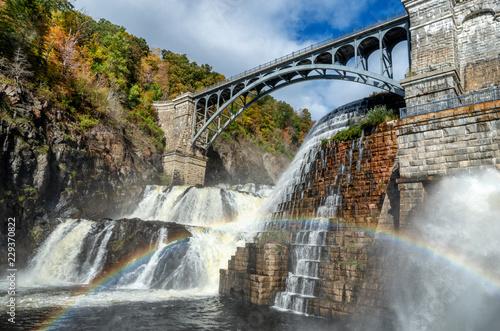 Fotografie, Obraz New Croton Dam, Croton-On-Hudson, Croton Gorge Park, NY. USA