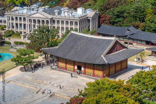 Junghwajeon, the main hall of Deoksu Palace, seoul