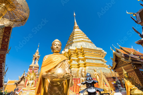 Staande foto Bedehuis Wat Phra That Doi Suthep temple , Chiang Mai,Northern Thailand