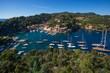 the beautiful village of Portofino, village near Genoa, Italy