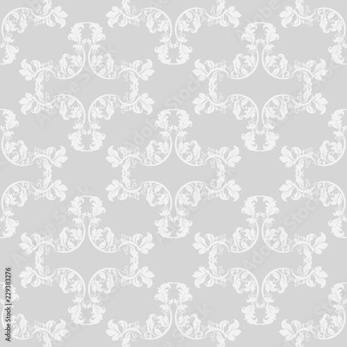 Keuken foto achterwand Kunstmatig Geometric seamless floral pattern