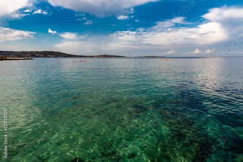 In de dag Kust Küste bei Bugibba Malta