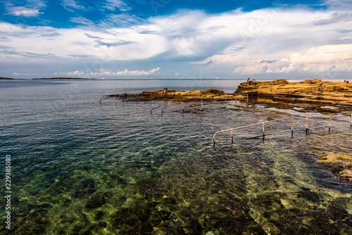 Poster Kust Küste bei Bugibba Malta
