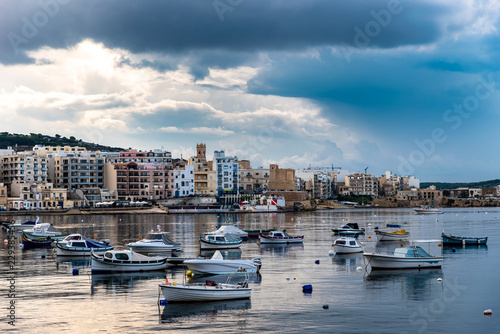Bucht Bugibba Malta