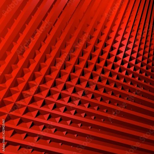 Obraz Czerwone tło 3d - fototapety do salonu