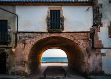 Mediterranean Sea View Through...