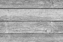 Monochrome Texture Of A Board. Abstract Background.