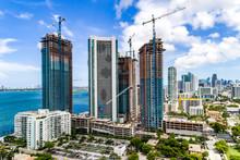 Miami Construction Aerial