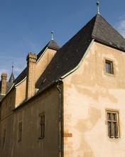 Detail Of Roof Of European Building