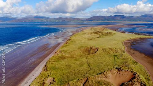 Tuinposter Canarische Eilanden The amazing nature of Ireland from above