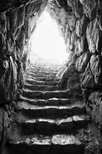 Stone Tunnel (Black&White)