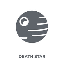 Death Star Icon From Astronomy...
