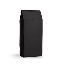 Coffee Bag Mock Up Black-Half Side View