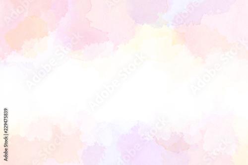 春の抽象的イメージ(水彩タッチ)  - 229475839