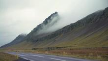 Fog Rolls Down A Mountain Next...
