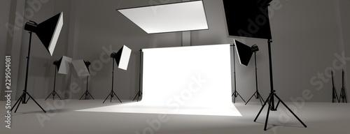 Valokuvatapetti Studio photo vierge