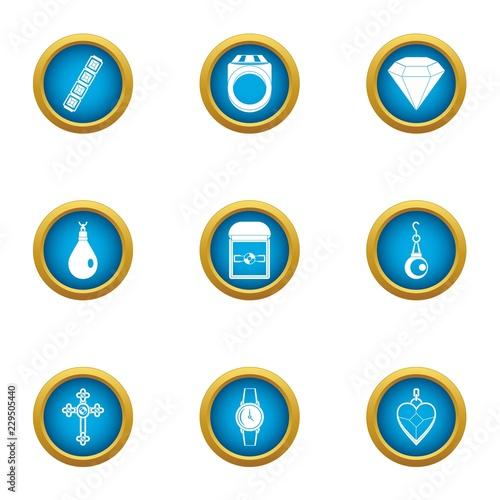 Fotografie, Obraz  Handling icons set