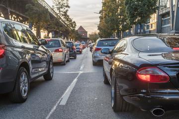 congestion in Hamburg