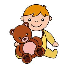 Baby Boy Bear Teddy Toys