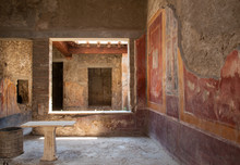 Interior Of The Buildings Of P...