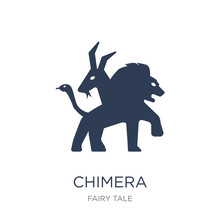 Chimera Icon. Trendy Flat Vector Chimera Icon On White Background From Fairy Tale Collection