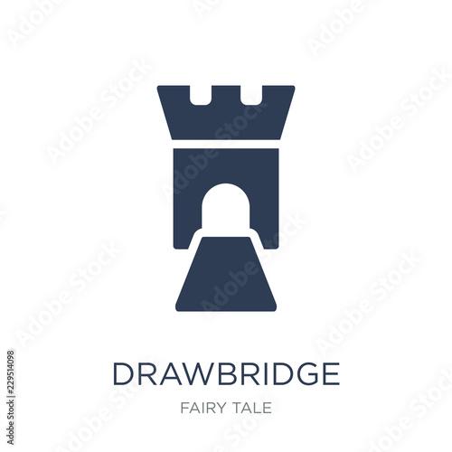 drawbridge icon Canvas Print