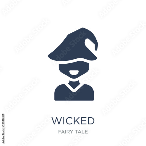 wicked icon Canvas Print