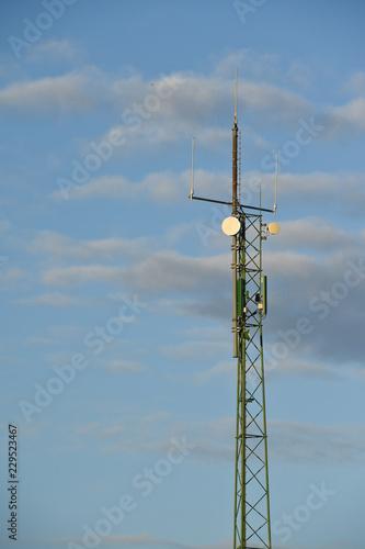 Fotografía  electricité environnement energie ciel antenne GSM Mobile