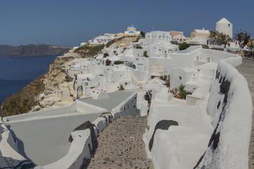 Fototapeta Charming views of Santorini