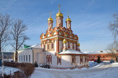 Foto op Plexiglas Kiev Church of St. Nicholas on Bersenevka in Moscow, Russia