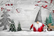 Deko-Arrangement Für Weihnach...