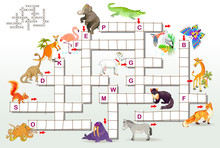 Crossword Puzzle Game With Fun...