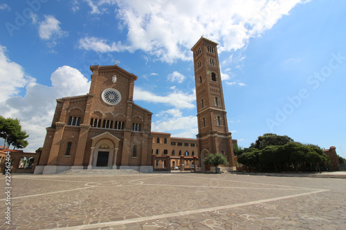 Basilica of Santa Teresa di Gesu Bambino in Anzio a city about 51 kilometres ( Canvas Print