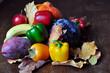 Herbstliches Stillleben mit Früchten