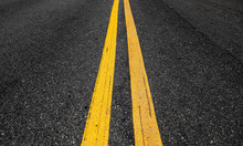 Yellow Double Dividing Lines P...