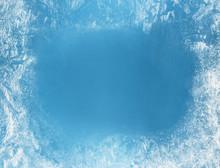 Frost Patterns On Frozen Windo...