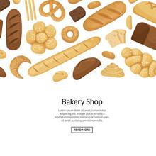Vector Cartoon Bakery Elements...